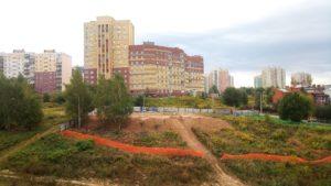 Что строят на улице Нижнепечерская напротив дома номер 2